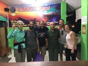 Companys de viatge: els vascos Mentxu i Ernesto i dos francesos