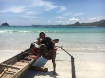 Un pescador local