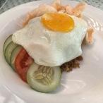 Nasi Goreng, el plat més típic a Indonèsia. Boníssim!