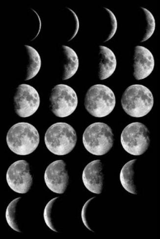 Les fases de la lluna