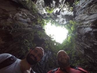 Llum natural dins les Batu Caves
