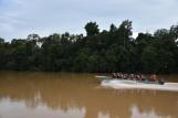 Una altra barca plena de turistes