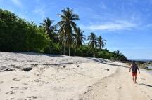 L'illa és molt petita