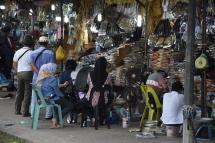 Una parada del mercat
