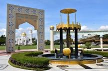 Passejant pel centre Bandar Seri Begawan
