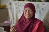 Una dona a un mercat de Bandar Seri Begawan