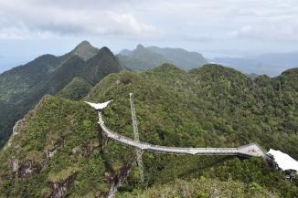 L'Sky Bridge des del mirador