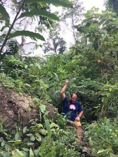 Fent el trekking per la jungla