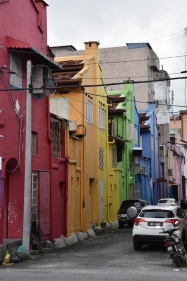 Colors als carrers d'Ipoh