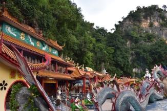 Fusió entre temple i muntanya