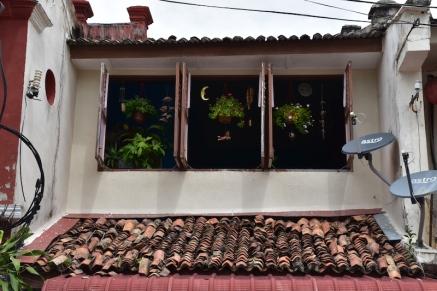Detall d'un balcó