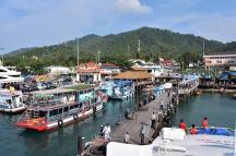 El port de Kho Tao