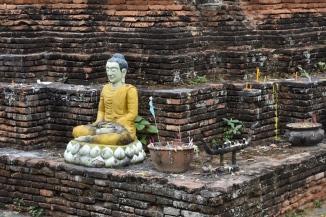 Detall d'un dels temples de Chiang Mai