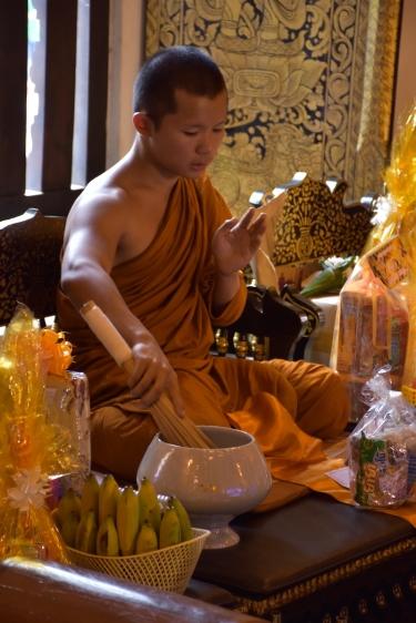 Un monjo del temple