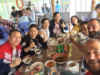 Els companys vietnamites del tour