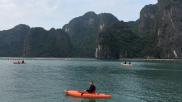 Caiac a Halong Bay