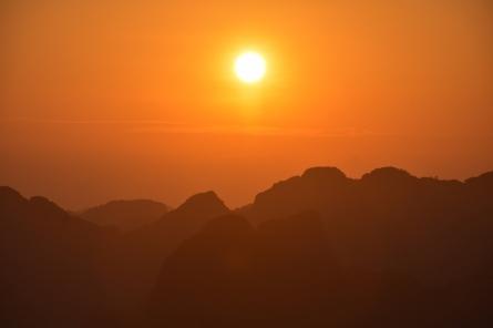 La posta de sol
