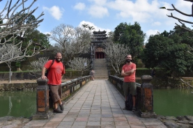 Un dels ponts de Minh Mang