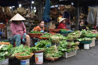 Voltants del mercat central a Hoi An