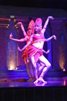 Ballarines durant una mostra de dansa a My Son
