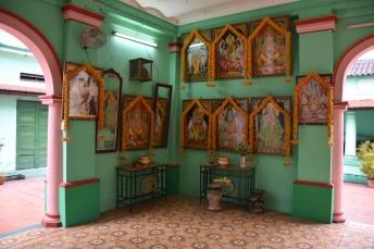 Detall del temple Sri Thendayuthapani