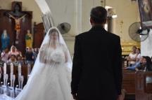 La núvia i el seu pare