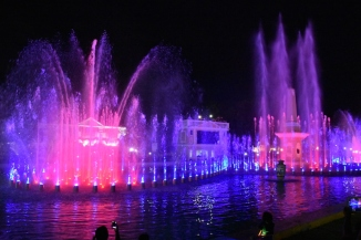 Mirant el Dancing Fountain