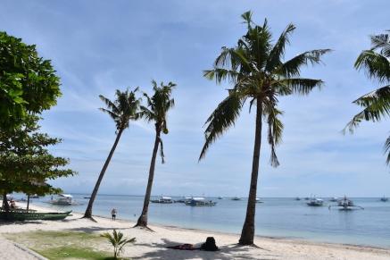 La platja que tenim davant de l'hotel