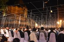 Ritual a Chedi Luang