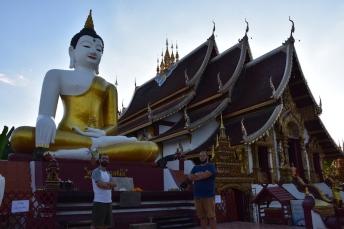 Wat Rajamontean, un dels temples més macos a Chiang Mai