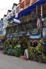 Detall d'un carrer de Chiang Rai