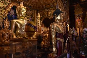 Interior d'un temple