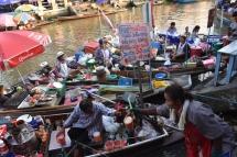 Amphawa, el mercat flotant