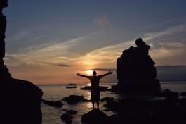 Gaudint de la posta de sol