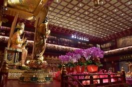 Interior del temple Tooth Relic