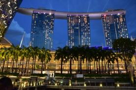 El Marina Bay Sands, bonic de dia i de nit