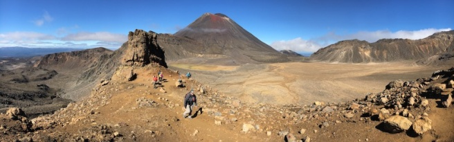 Vistes de la Tongariro Alpine Crossing
