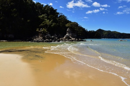Abel Tasman, el punt final de la nostra caminada: Stillwell Bay