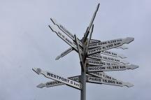 Càlcul de distàncies a Cape Foulwind