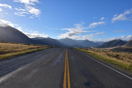 La carretera que travessa Arthur's Pass
