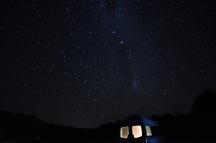 El cel des de Hawdon Shelter