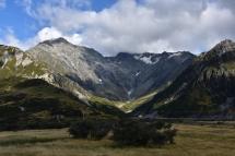 Vistes de camí al Mount Cook