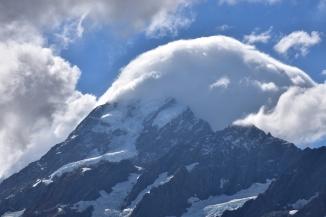 Detall del Mount Cook