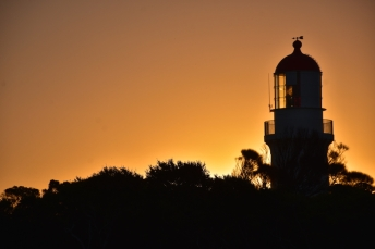 Posta de sol a Cape Schanck Lighthouse