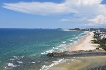 La platja de Burleigh Heads