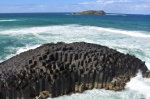 Formacions rocoses a Fingal Head