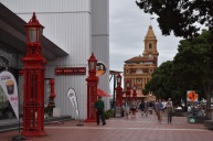 Passejant pel port d'Auckland