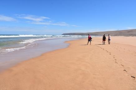 Caminant per Parsons Beach