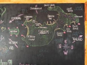El mapa de l'illa