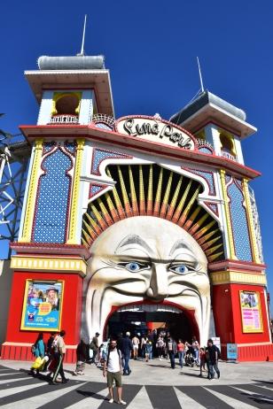 Entrada a Luna Park